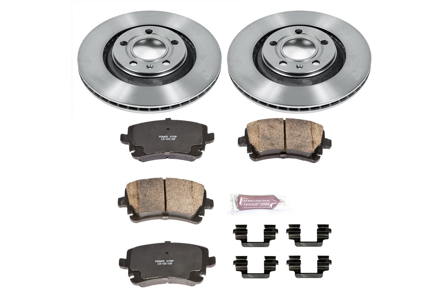 Autospecialty (KOE4564) Daily Driver OE Brake Kit, Rear by Power Stop