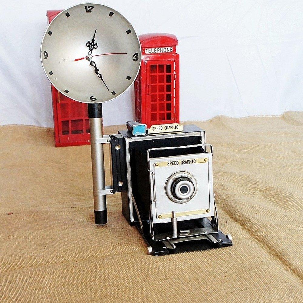 BWLZSP 1 PCS Retro Vintage Decoration Vintage Camera Model Window Display Decoration Decoration Cafe Photography Prop AP5291641
