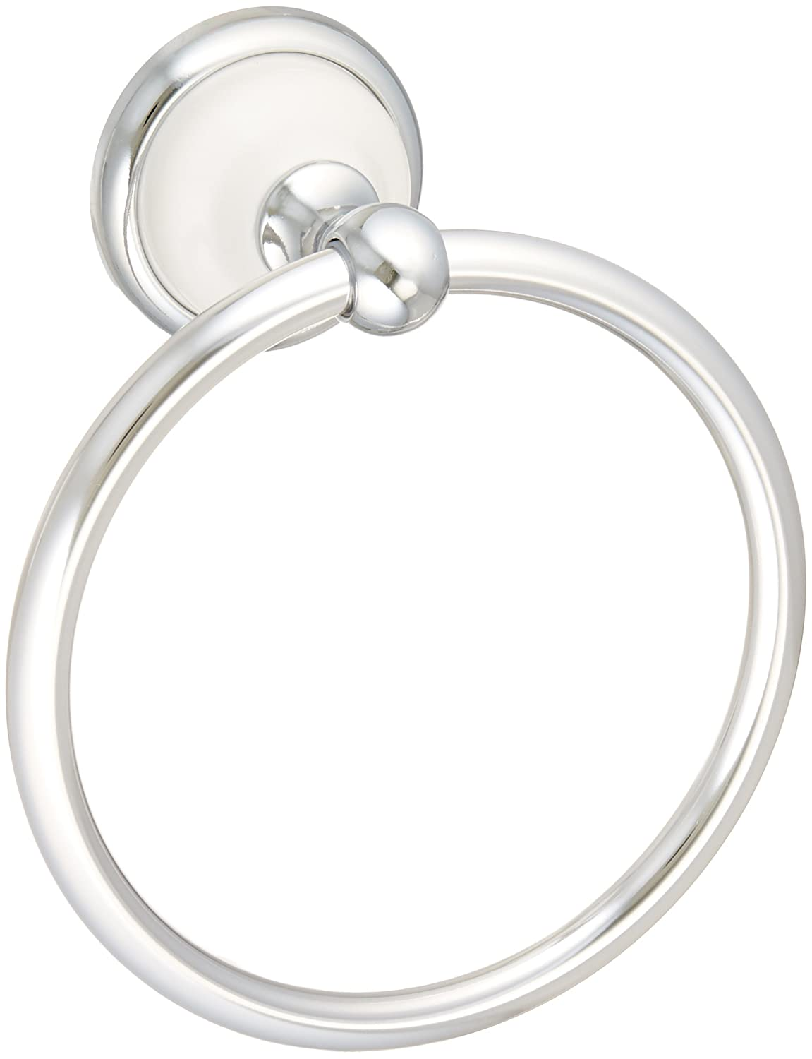 good Franklin Brass  126882 Bellini Towel Ring, Polished Chrome & White