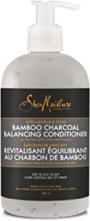 product image for SHEA MOISTURE African Black Soap Bamboo Charcoal Conditioner, 13 FZ