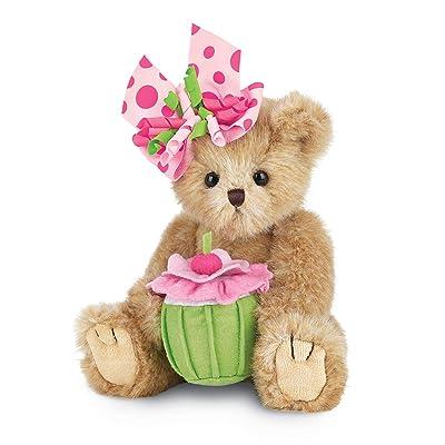 "Bearington Casey Cupcake Birthday Teddy Bear 10"": Toys & Games"