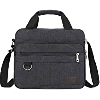 YOUBAMI Canvas Satchel Messenger Shoulder Bag, Classic Multifunctional Crossbody Sling Working Bag Bookbag with Multi…
