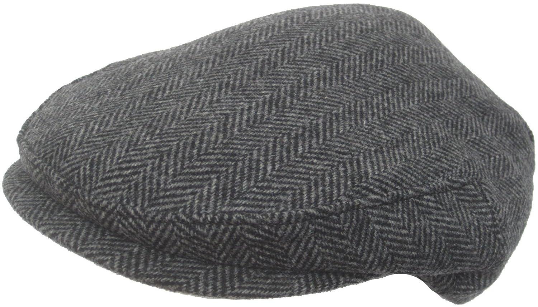 f1d584e258a Headchange Made in USA Wool Ivy Scally Cap Herringbone (XX-Large) at Amazon  Men s Clothing store  Novelty Baseball Caps