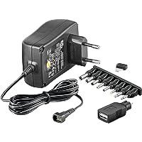 Universal Netzteil 1500mA 3V/4,5V/5V/6V/7,5V/9V/12V inkl. 8 Adapterstecker plus USB
