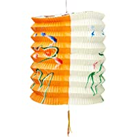 Partyforte Mid Autumn 16 Traditional Paper Lantern with Sticks, 3-Count