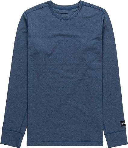 Dark Navy Large North Face Men/'s Westbrae Graphic Long Sleeve T-Shirt Black