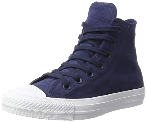 Unisex Adults CTAS Ultra Mid Navy/Black/White Hi-Top Trainers Converse