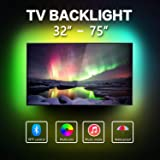 LED Strip Lights for 32-75 inch TV,Waterproof RGB USB Powered TV Led Backlight with APP Control,TV Led Backlight Kit for Flat Screen TV TV,PC,CAR