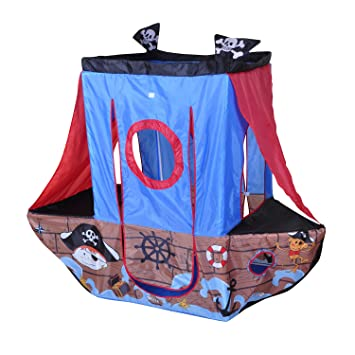Knorr Toys Knorr55701 Pirate Ship Play Tent  sc 1 st  Amazon UK & Knorr Toys Knorr55701 Pirate Ship Play Tent: Amazon.co.uk: Toys ...