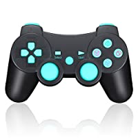 Controller Gamepad Joystick Wireless Per PS3 Giochi Con Doppia-vibrazione e Funzione SIXAXIS per Sony PS3 PlayStation 3