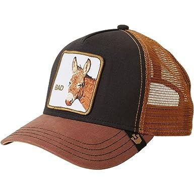 36e11ccde8684 Amazon.com  Goorin Brothers Unisex Animal Farm Snap Back Trucker Hat Black  Donkey One Size  Clothing