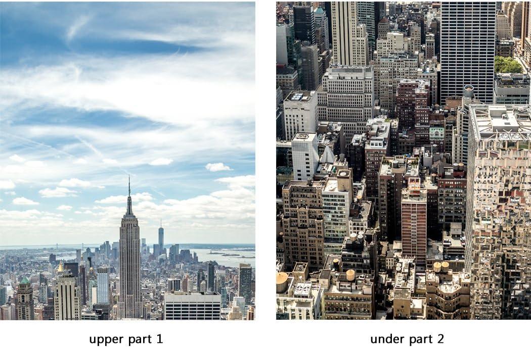 Self adhesive Door wrap removable Peel /& Stick New York City skyline  DS/_668