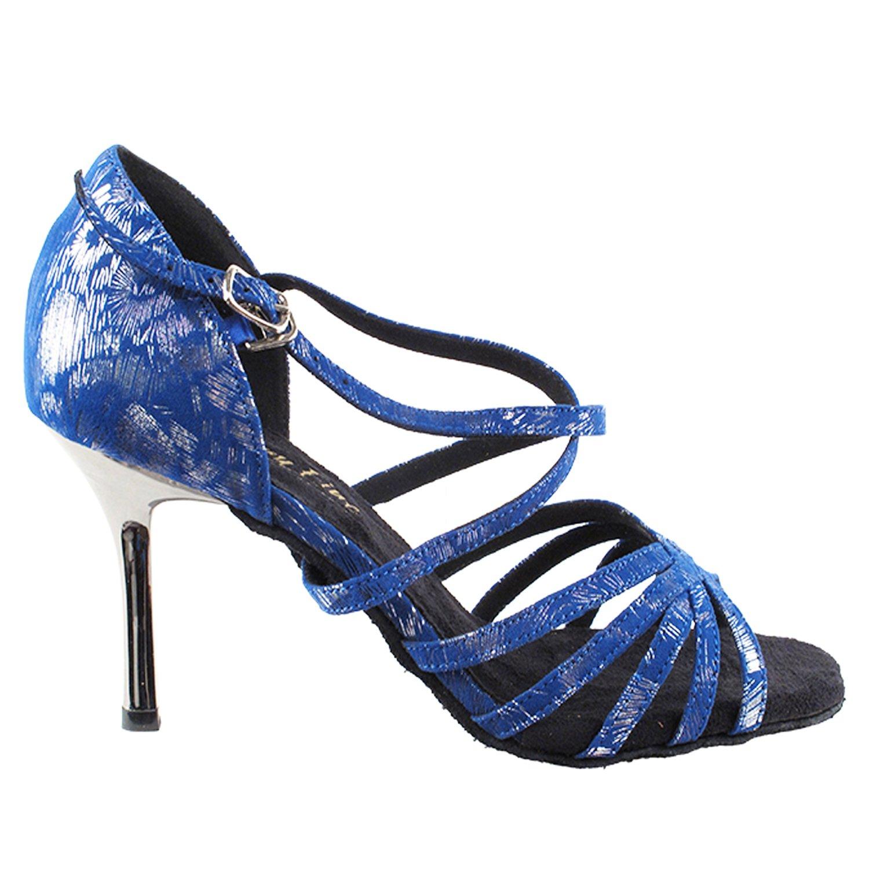 50 Shades Blue /& Purple Ballroom Latin Dance Shoes for Women Ballroom Salsa Wedding Clubing Swing