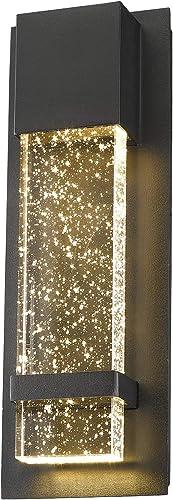 Emliviar Indoor Outdoor LED Wall Sconce Light