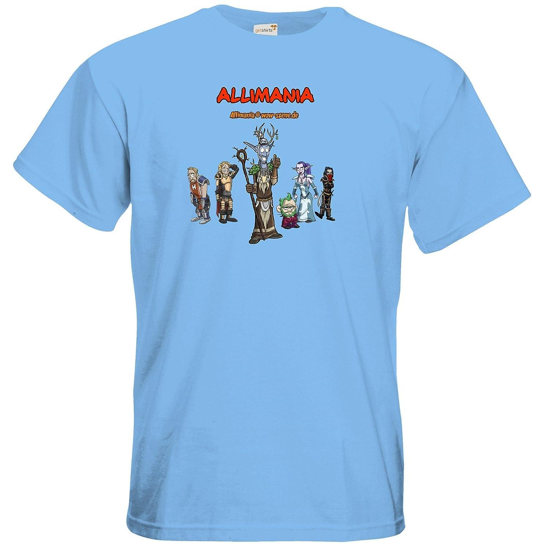 getshirts - Stevinho & Allimania - T-Shirt - Allimania Classic - Miracoli:  Amazon.de: Bekleidung