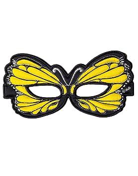 Dreamy Dress-Ups 50764 Amarillo Máscara de mariposa (Talla única)