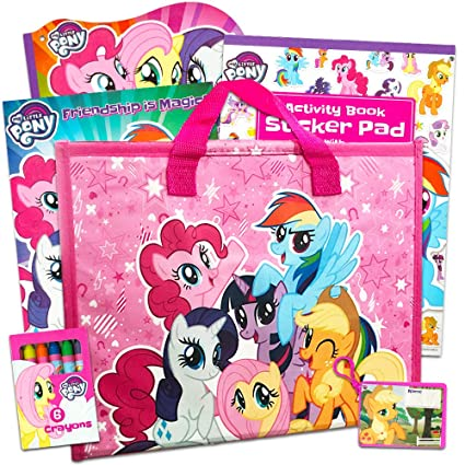 My Little Pony Coloring Book Jumbo 448 Pages With Stickers And Poster Featuring Classic