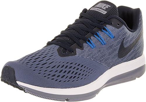Nike Zoom Winflo 4, Zapatillas de Running para Hombre, Multicolor (Diffused Bluee/Obsidi 403), 49.5 EU: Amazon.es: Zapatos y complementos