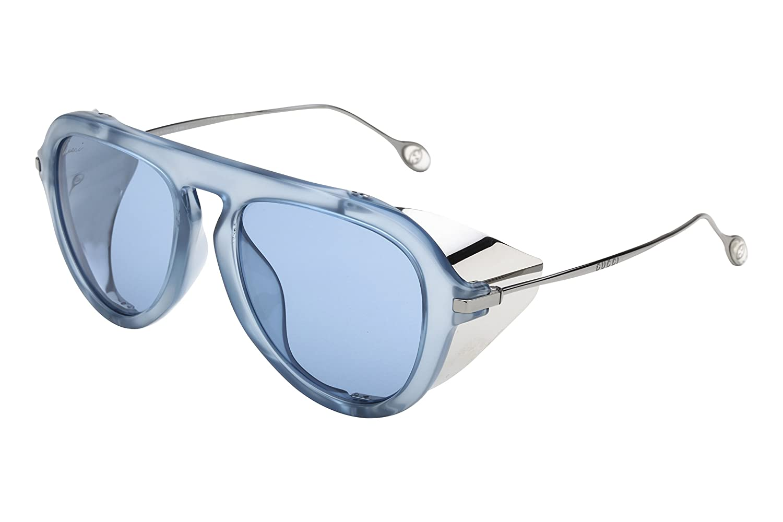 Gucci Gafas de Sol 3737/S76R3T51_R3T (51 mm) Azul: Amazon.es: Ropa y ...