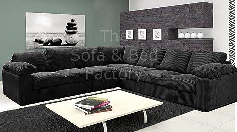 Ruxley Large Fabric 7 Seater Corner Sofa - 3 Corner 3 ...