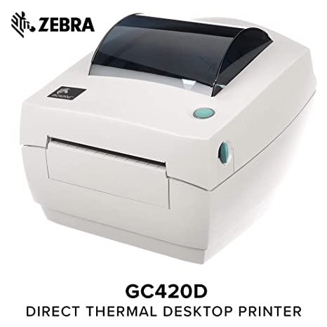 Zebra - GC420d Direct Thermal Desktop Printer for Labels, Receipts,  Barcodes, Tags, and Wrist Bands - Print Width of 4 in - USB, Serial, and  Parallel