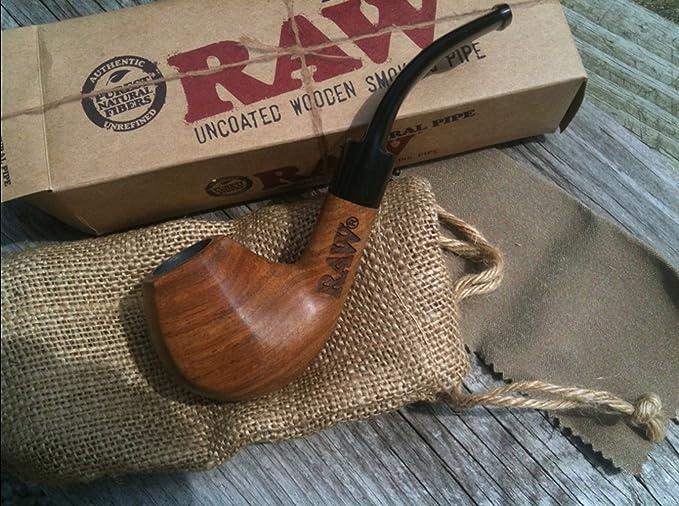 Raw marca, de madera bruto Natural pipa con bolsa (nuevo producto de crudo) con Mont Cherry 3d marcapáginas vendido por Trendz: Amazon.es: Jardín