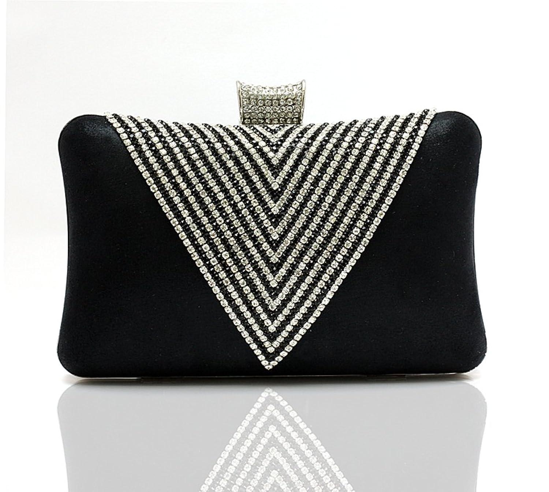 Heart-shaped diamond handbag/Evening Bags/Banquet package/Bride Clutch/Ms. cheongsam package
