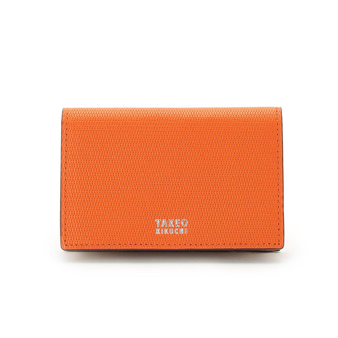 (タケオキクチ) TAKEO KIKUCHI ミニメッシュ名刺カードケース 07001522 B072Q1K41Q オレンジ(567) オレンジ(567)