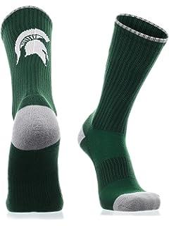 TCK Michigan State Spartans Socks Crew Length Sock Mayhem