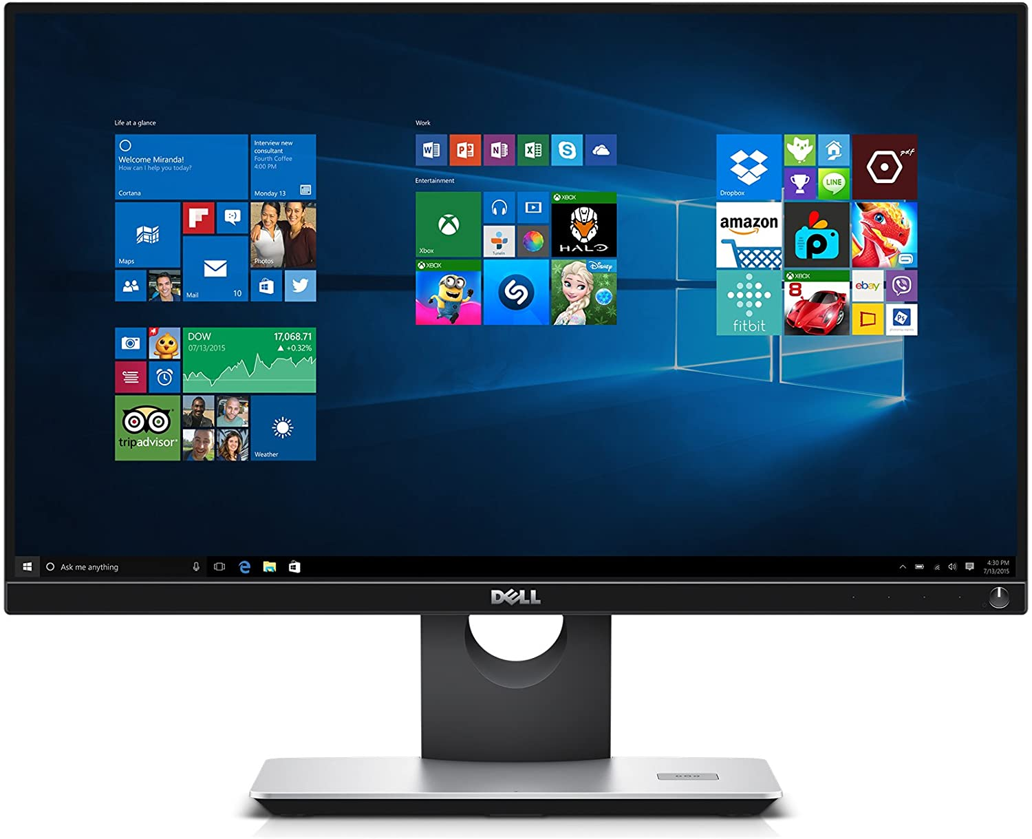 "Dell S2317HWi 23"" Screen LED-Lit Monitor with Wireless Connect and Wireless Charging Stand"