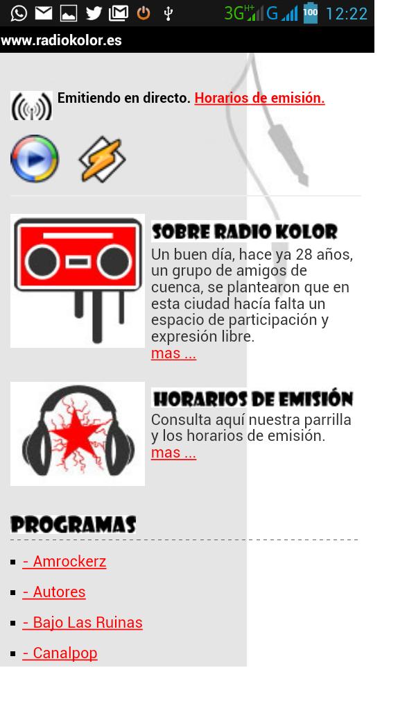 Radio Kolor. La radio libre de Cuenca.