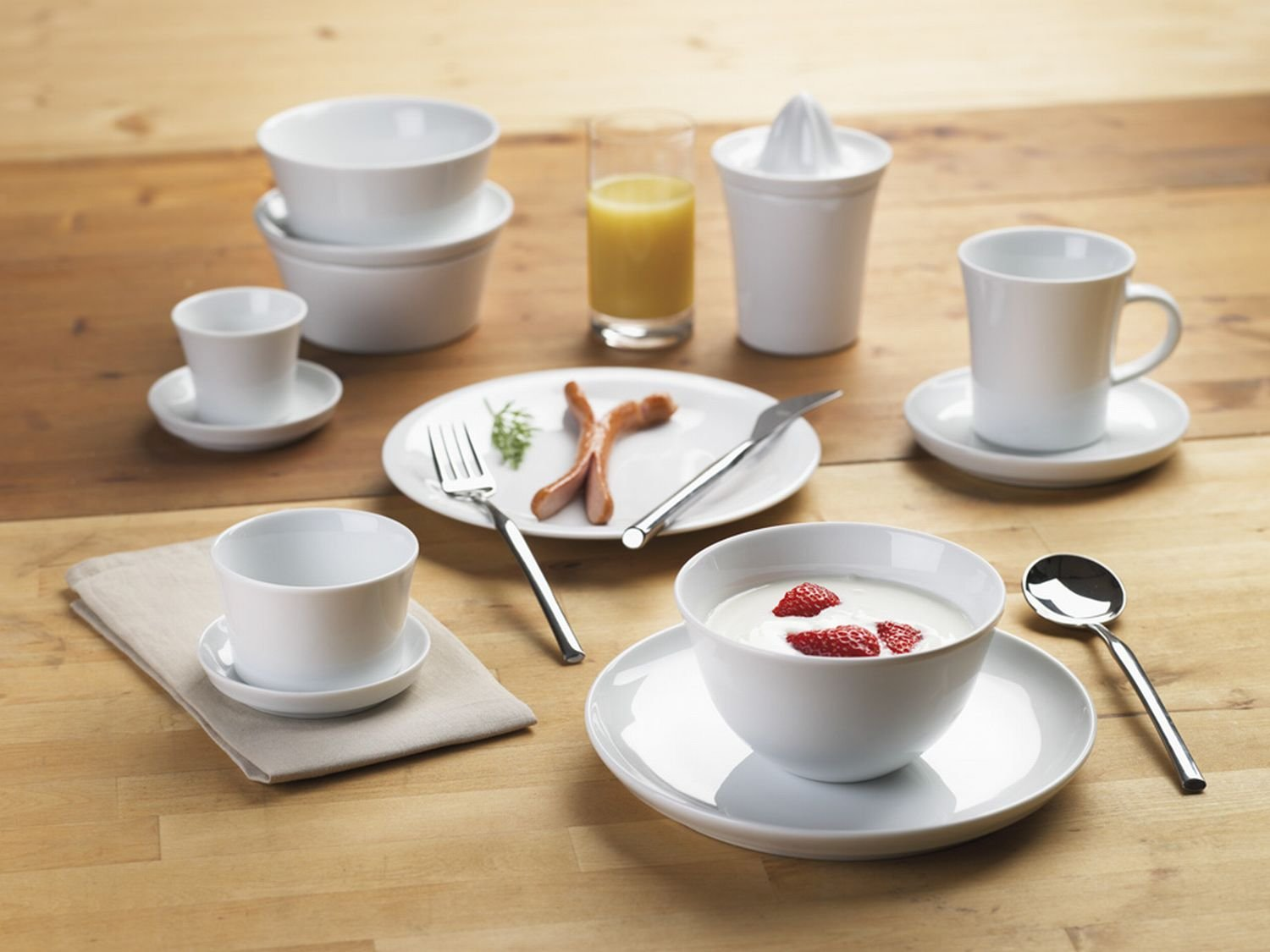 KAHLA Update Stand, 3-piece, White Color, 1 Piece by KAHLA - PORCELAIN FOR THE SENSES (Image #3)