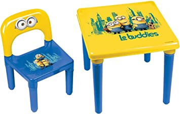 MINIONS hmin005 Activity Table, Yellow: Amazon.es: Juguetes y juegos