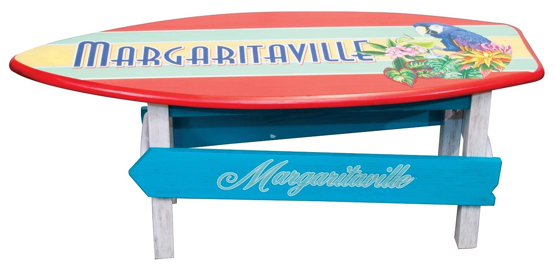 Amazon.com : Margaritaville Outdoor Surfboard Coffee Table : Garden U0026  Outdoor