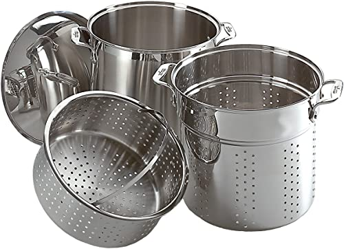 Zestaw naczyń kuchennych All-Clad Specialty Stainless Steel 12-Quart Multi Cooker Set