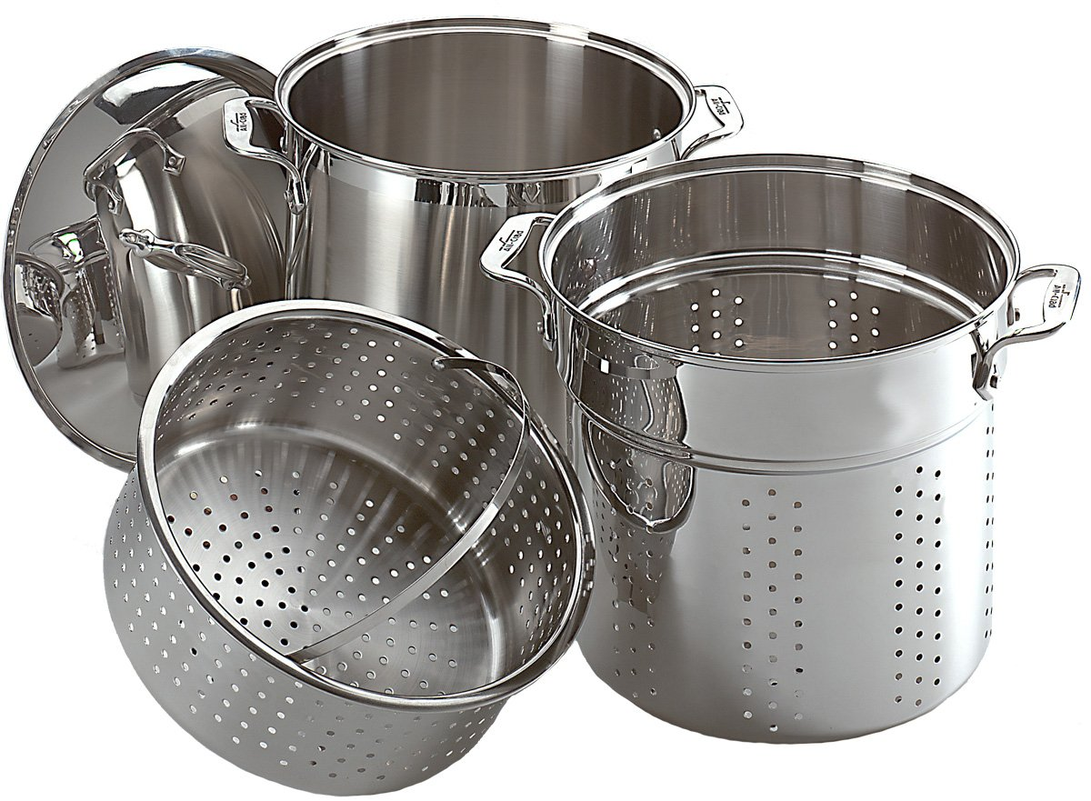 All-Clad Unisex Multi Cooker Stainless Steel Stock Pot 2100085674