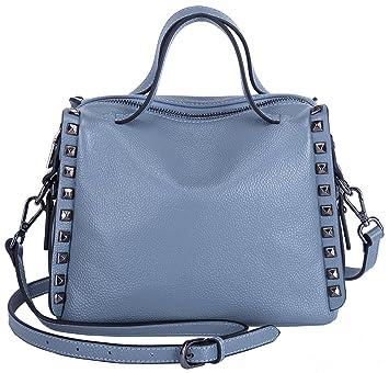 29a37f46533bf BOYATU Frauen Leder Handtasche Schultertasche Crossbody Handtasche Top  Griff Tasche Satchel Tote für Damen (Elegant