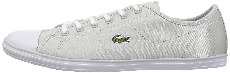Lacoste Women's Ziane Sneakers Grey/White B071KB4ZZT 5 B(M) US|Light Grey/White Sneakers Textile 2364bf