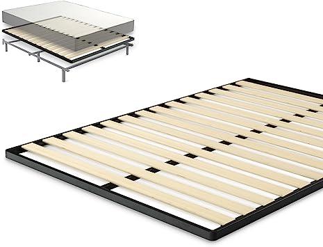 Amazon Com Zinus Deepak Easy Assembly Wood Slat 1 6 Inch Bunkie