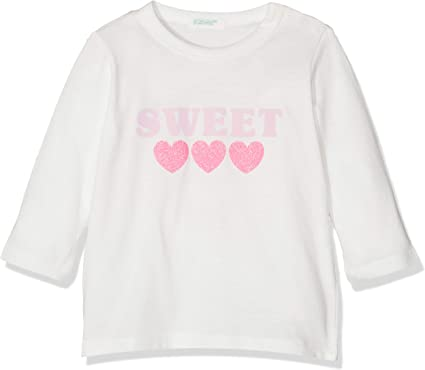 United Colors of Benetton Collage BB G2 Camiseta de Tirantes, Blanco (Bianco Panna 074), 86/92 (Talla del Fabricante: 90) para Bebés: Amazon.es: Ropa y accesorios