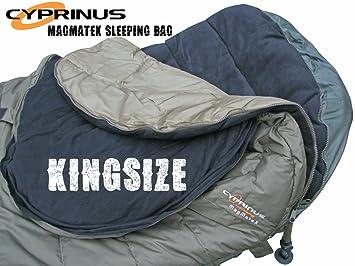 Cyprinus Magmatex 5 temporada Kingsize Extra grandes de pesca de carpa saco de dormir: Amazon.es: Deportes y aire libre
