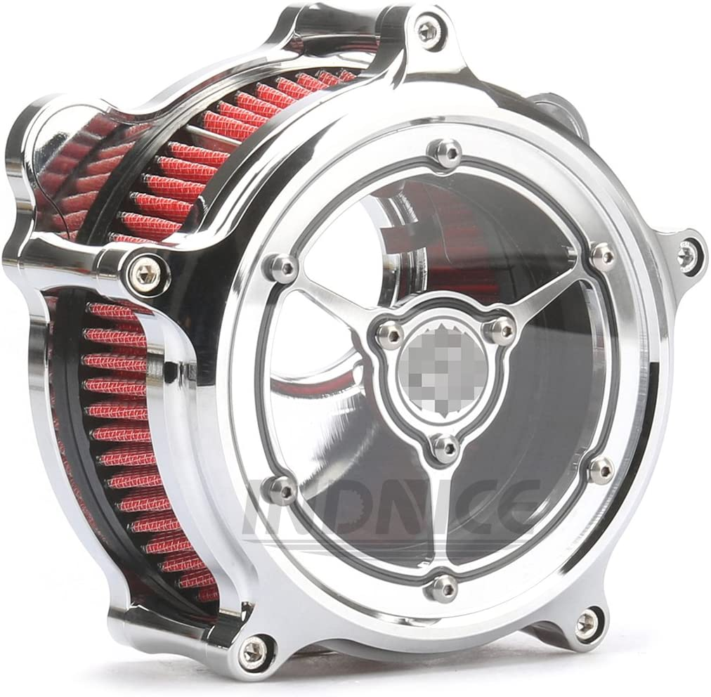 Chromed Clarity Air cleaner electra glide air intake system air filter For Harley Touring street glide 08-16
