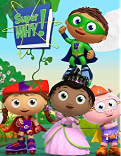 Amazon Com Briarpatch Super Why Abc Game Pbs Kids Early Reading Spelling Development Improve Childhood Literacy Social Skills Includes Finger Puppets Toys Games