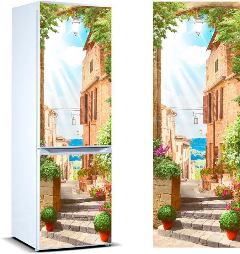 Oedim Vinilo para Frigor/ífico Italia 185 x 60 cm Pegatina Adhesiva Decorativa de Dise/ño Elegante Adhesivo Resistente y de F/ácil Aplicaci/ón