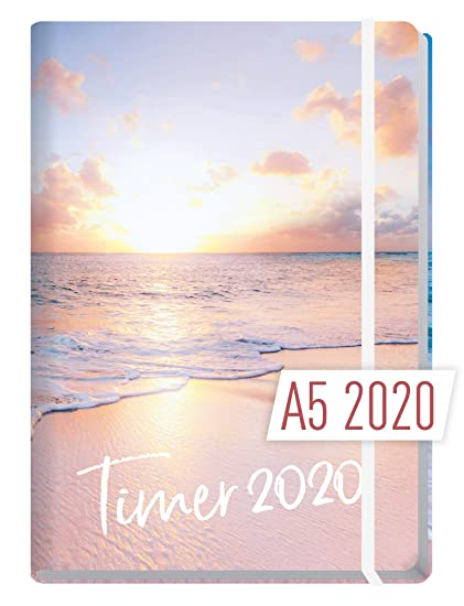 Chäff-Timer Premium - Agenda 2020, formato A5, 12 meses: Sí ...