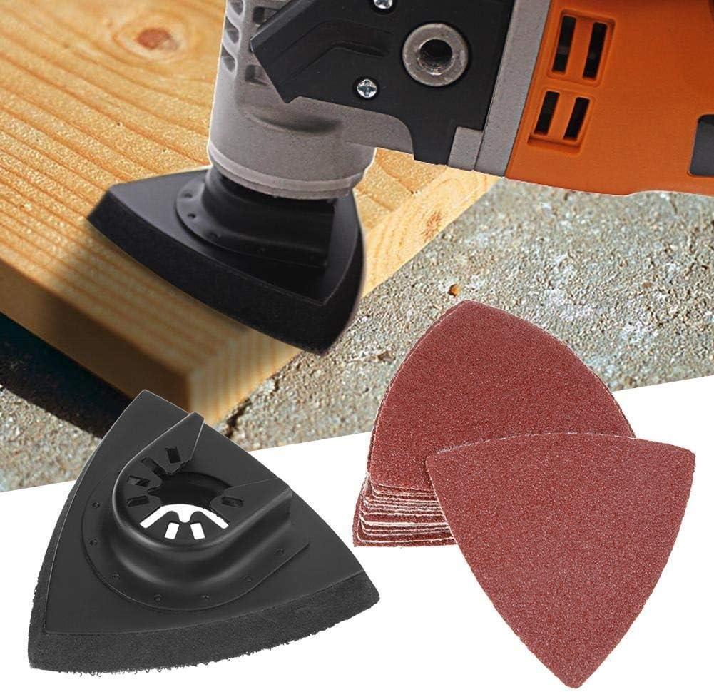 Sanding Pads-82pcs Sanding Kit Oscillating Multi Tool Sand Pad for Bosch Stanley Multimaster Makita Dremel