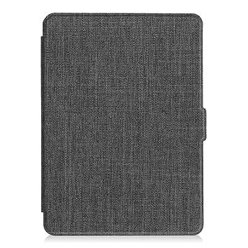 Fintie SlimShell Funda para Kindle Paperwhite - La Más Delgada y Ligera Carcasa de Tela con Función de Auto-Reposo/Activación (No se Adapta a 10.ª ...
