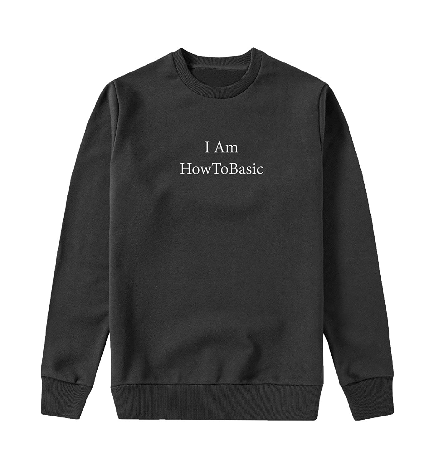 Amazon.com  I Am HowToBasic Sweater Unisex Sweatshirt Men Women  Clothing fd8e021965