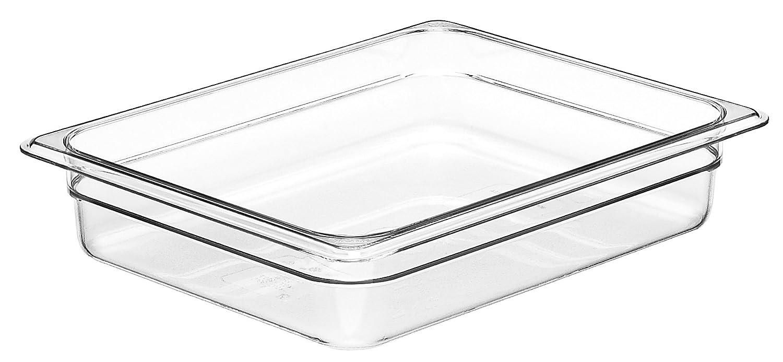 Cambro Camwear 22CW135 Food Pan, 1/2 by 2-Inch, Clear