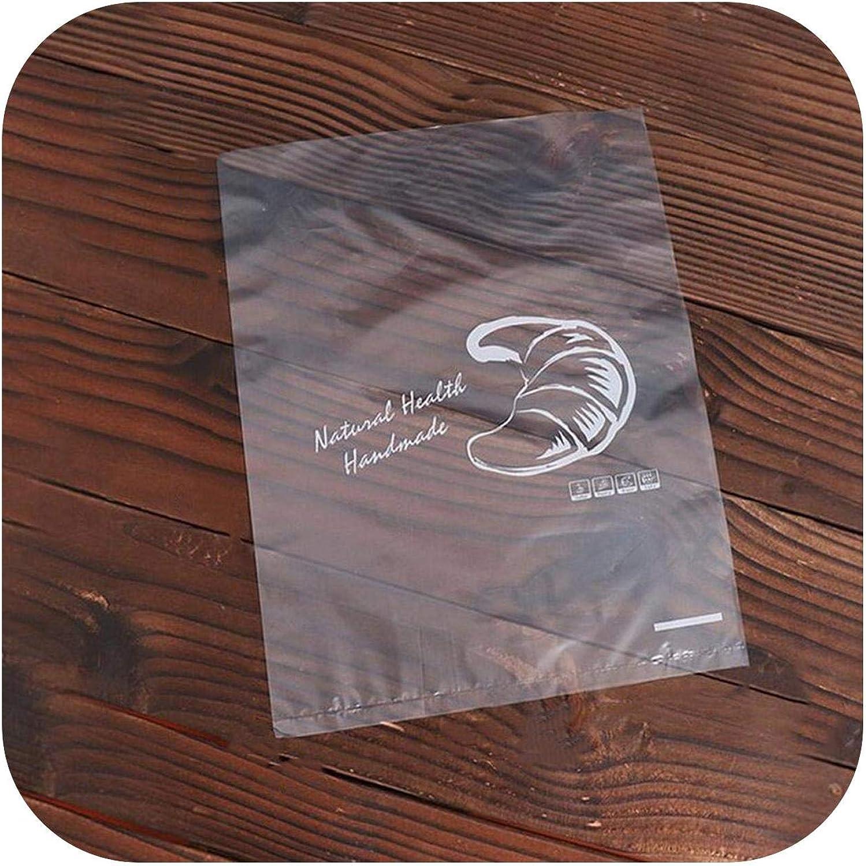Bolsas de regalo suave de plástico esmerilado para pan Toast Cookie Candy-Bread Frosted Bag-100 unidades 26 x 36 cm